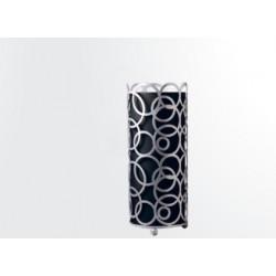 Silla de forja con asiento tapizado Marbella