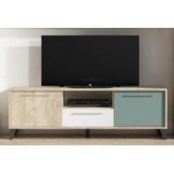 Mueble TV 2PTAS 161CM  CUBE